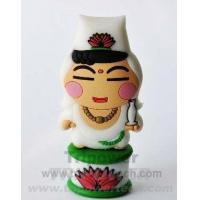 Buy cheap Chinese Gods - 2Mother Buddha Custom Shape Rubber USB Drive from wholesalers