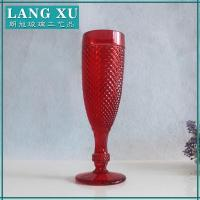 Buy cheap red champagne glass from wholesalers