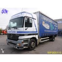 Buy cheap Truck Tautliner truck used Mercedes Actros 1831 Diesel from wholesalers