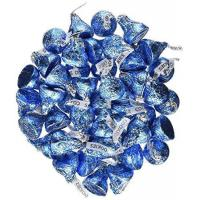 Buy cheap Blue Candy Hershey's Kisses 2 pounds Bulk Bag Cookies N' Creme Blue Foiled Wrapping from wholesalers