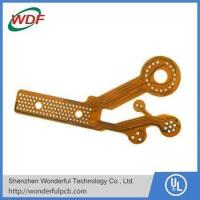 Buy cheap multilayer flexible fpc products with immersion gold surface finish from wholesalers