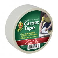 Buy cheap Duck Brand Indoor/Outdoor Carpet Tape - White, 1.41 in. x 42 ft. from wholesalers