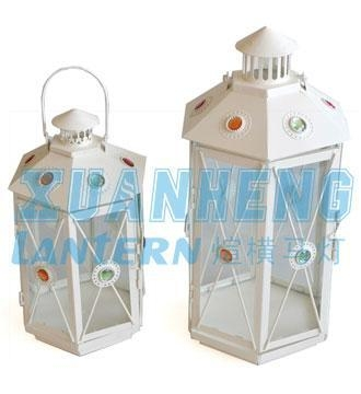 Quality Wholesale Purple Moroccan Candle Lantern for sale