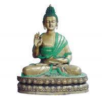 Buy cheap Buddha sculpture of brassItem Code from wholesalers