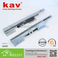 Buy cheap 660D soft closing drawer slides undermount,drawer slide hardware from wholesalers