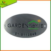 Buy cheap Metal brand plate [MP0001] from wholesalers