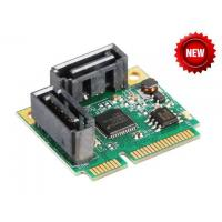 Buy cheap Mini PCI-Express SATA 3.0 Controller Card IO-MPCE1061-2I from wholesalers