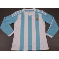 Buy cheap Argentina Home Long Sleeve Soccer Jersey 2015-16 from wholesalers