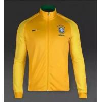 Buy cheap Brazil Home Yellow Men's Jacket SJ20160622009 from wholesalers
