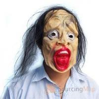 Buy cheap Evil Yellow Ghost Face Halloween Mask Halloween Gifts & Items from wholesalers