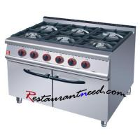 Buy cheap Cooking Equipement K265 Gas Range With 6-Burner & Cabinet +86 20-34709971 from wholesalers