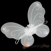 Buy cheap X'Mas Christmas Angelic Girl's Angel Butterfly Wing Christmas Crafts from wholesalers