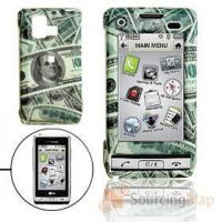 Buy cheap Hard Plastic Case with US Dollar Pattern for LG VX9700 Cell Phone Cases from wholesalers