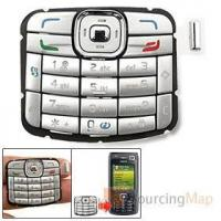 Buy cheap Repair Part Keypad Keyboard Button for Nokia N70 Silvery More Accessories from wholesalers
