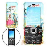 Buy cheap Hard Plastic Case with Cartoon Lovers Pattern for Nokia 6122 Classic Cell Phone Cases from wholesalers
