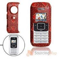 Buy cheap Crimson Hard Plastic Case with Red Heart Pattern for LG VX9900 Cell Phone Cases from wholesalers