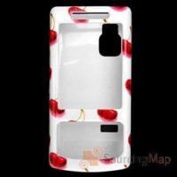 Buy cheap Stylish Cherry Pattern Plastic Case Cover for Nokia 6500 Cell Phone Cases from wholesalers