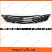 Buy cheap 2005-2007 Ford Five Hundred Black Billet Grille with Logo Co from wholesalers