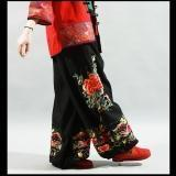 Buy cheap Silk-stocking Flower & Fish Embroidery Trousers from wholesalers