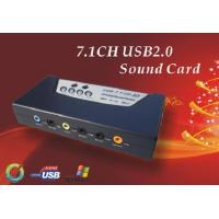 Buy cheap 7.1 CH USB Sound Card from wholesalers