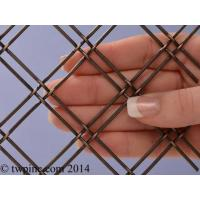 "Buy cheap Oxford Antique Bronze Plated 24"" x 48"" - 1"" Mesh product"