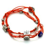 Buy cheap Evil Eye Amulets Wrapping Evil Eye Charms Bracelet for Good Luck from wholesalers