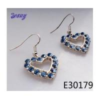 Buy cheap Cheap wholesale gold heart shape clip on earrings E30179 from wholesalers