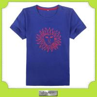 Buy cheap Custom 100%combed cotton printed t-shirt with your own design from wholesalers