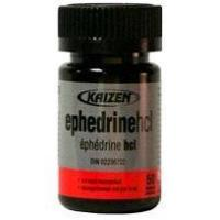 Buy cheap Ephedrine HCL 8 mg 50 Tabs by Kaizen from wholesalers