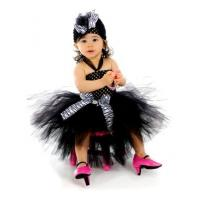 Buy cheap Boutique Baby Zebra or Leopard Print Tutu Crochet Dress - 3004 from wholesalers