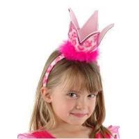 Buy cheap dress up Hot Pink Leopard Party Crown from wholesalers