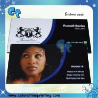 Buy cheap Glossy lamination business card printing from wholesalers