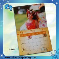 Buy cheap Wall calendar printing manufacturer from wholesalers