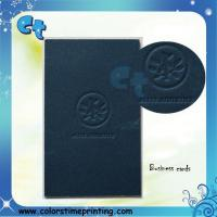 Buy cheap Embossing business card from wholesalers