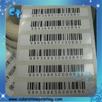 Buy cheap Barcode label printing from wholesalers