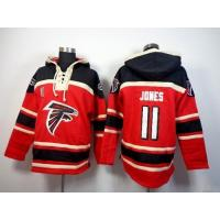 Buy cheap Atlanta Falcons #11 Julio Jones Red Sawyer Hooded Sweatshirt NFL Hoodie from wholesalers