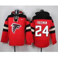 Buy cheap Nike Falcons #24 Devonta Freeman Red Player Pullover NFL Hoodie from wholesalers