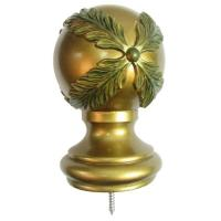 Buy cheap Curtain Rods And Accessories For Window Treatment, wooden curtain rods finial from wholesalers