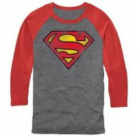 Buy cheap Superman Classic Shield Raglan T-Shirt from wholesalers