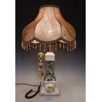 Buy cheap antique phone table lamp pocahontas white pearl from wholesalers