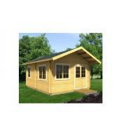 Buy cheap Anti-Corrosive Outdoor Wooden House 590*570cm Waterproof For Garden from wholesalers
