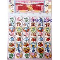 2016629102320Animation Rbocar Poli 4.5cm Cartoon Badge & Buttons