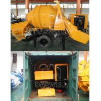 Buy cheap Daswell Delivered Concrete Mixer with Pump to Philippines from wholesalers
