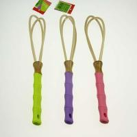 Buy cheap Bamboo WhisksAssorted Colors with Comfort Grip Handles from wholesalers