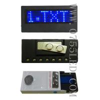Buy cheap LED English badges, B729SB from wholesalers