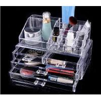 Buy cheap Factory direct wholesale clear acrylic makeup organizer with drawers DMO-024 from wholesalers