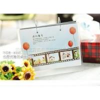 Buy cheap Simple double inverted V type acrylic calendar DIY photo calendar from wholesalers
