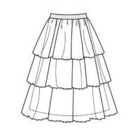 How to Sew a Tiered Tulle Skirt