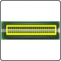 Buy cheap KS2402SYGBA1 24x2 character lcd Dark Blue on Yellow Green from wholesalers