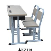 Buy cheap Double used preschool furniture school chair desk for sale KZ110 product
